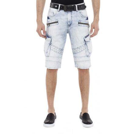 Cipo & Baxx fashionable shorts ck196blue