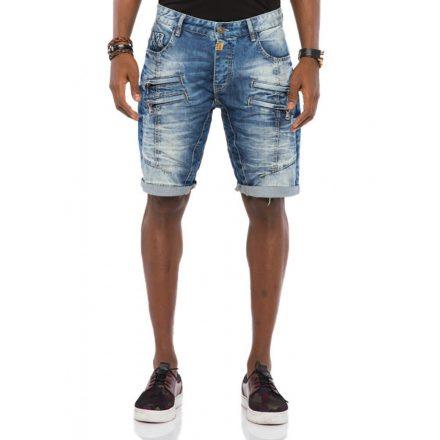 Cipo & Baxx divatos férfi rövidnadág CK199BLUE