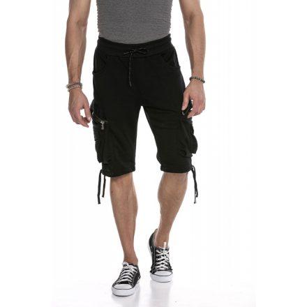 Cipo & Baxx divatos rövidnadrág CK225 Black