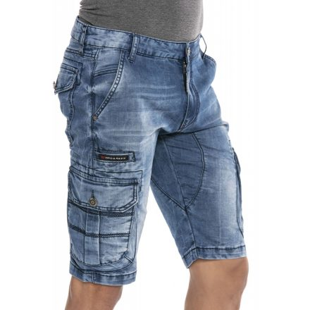 Cipo & Baxx divatos farmer rövidnadrág CK226 Blue