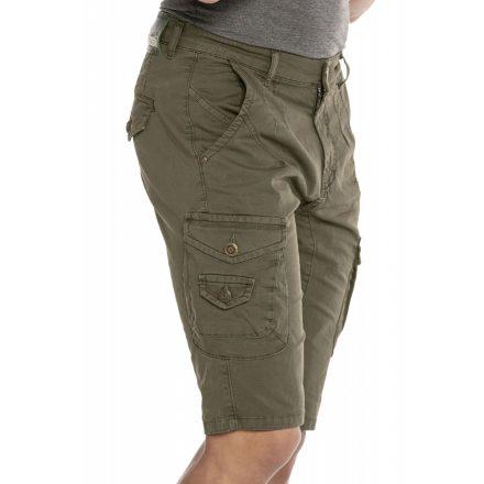 Cipo & Baxx divatos rövidnadrág CK228 Khaki