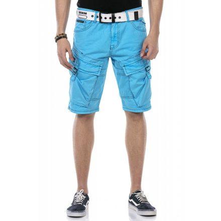 Cipo & Baxx divatos rövidnadrág CK229 Baby Blue