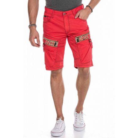 Cipo & Baxx divatos rövidnadrág CK243 Red