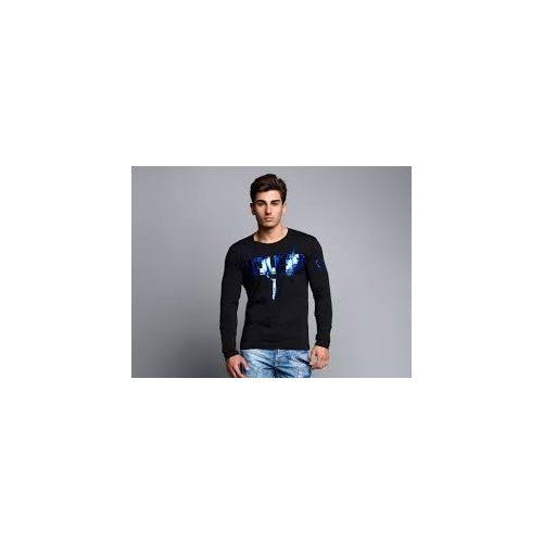 Cipo & baxx hosszú ujjú férfi póló CL136BLACK