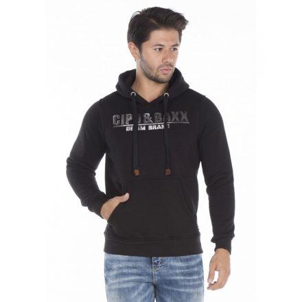 Cipo & Baxx black hoodie
