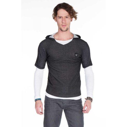 Cipo & Baxx fekete pulóver