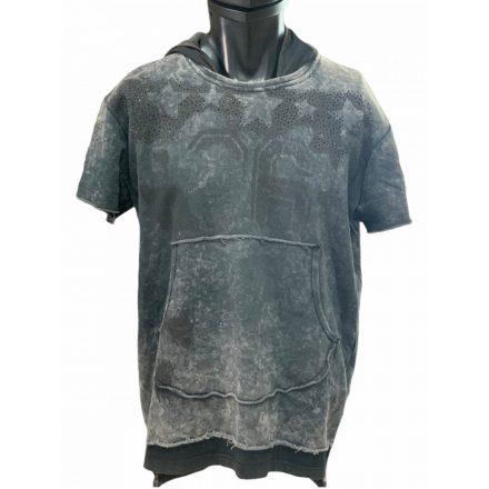 Cipo & Baxx divatos férfi pulóver CL279ANTHRACITE