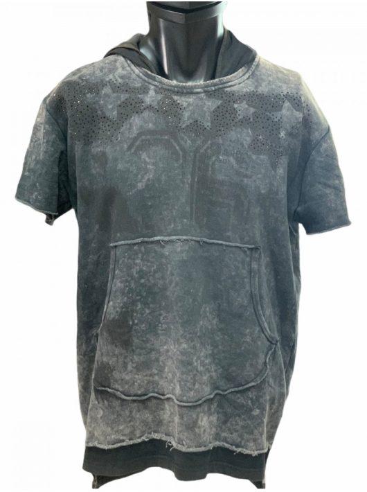 Cipo & Baxx anthracite pulóver