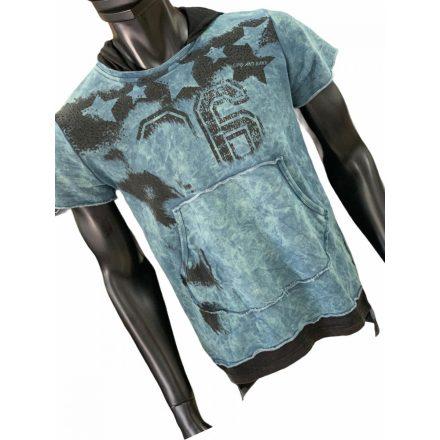 Cipo & Baxx divatos férfi pulóver CL279INDIGO