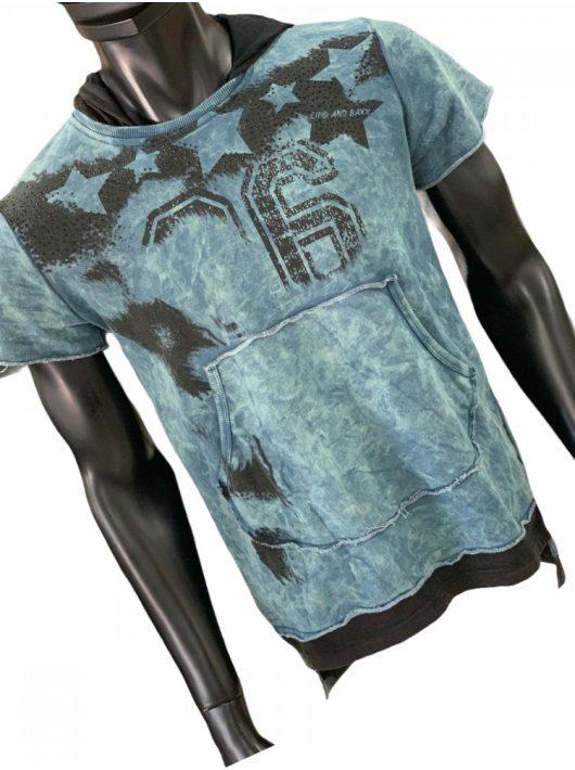 Cipo & Baxx indigo pulóver
