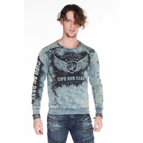 Cipo & Baxx divatos pulóver