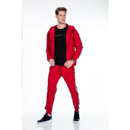 Cipo & Baxx fashionable sweatshirt CL292 RED
