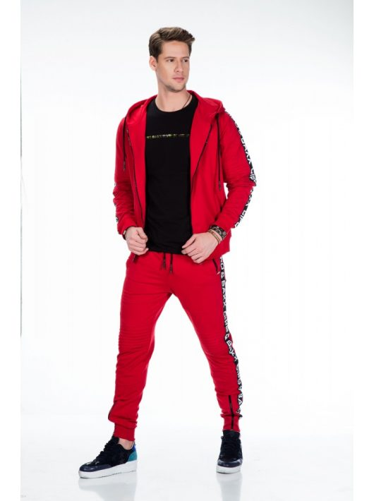Cipo & Baxx divatos melegítő felső CL292 RED