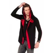 Cipo & Baxx fashionable men's hoodie CL306_BLACK