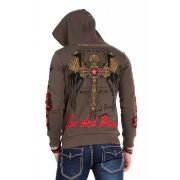 Cipo & Baxx fashionable men's hoodie CL334_KHAKI