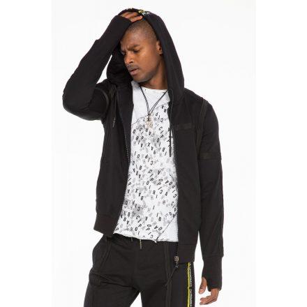 Cipo & Baxx fashionable men's sweatshirt CL345Black