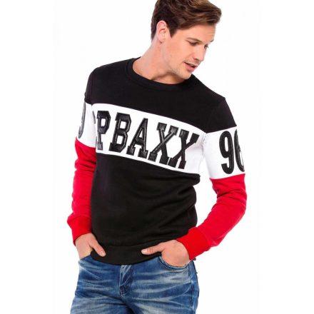 Cipo & Baxx divatos férfi melegítőfelső CL375BLACK