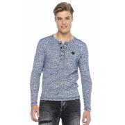 Cipo & Baxx divatos férfi  pulóver CL423BLUE