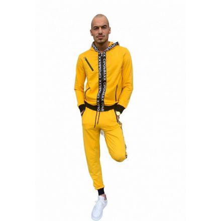 Cipo & Baxx divatos melegítő szett CLR131 Yellow