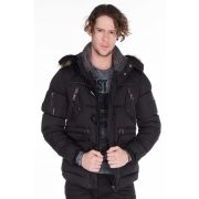 Cipo & Baxx men's jacket CM107 BLACK