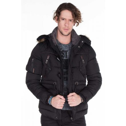 Cipo & Baxx men's jacket CM107 BLACK