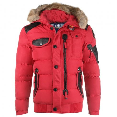 Cipo & Baxx piros téli kabát CM120 RED