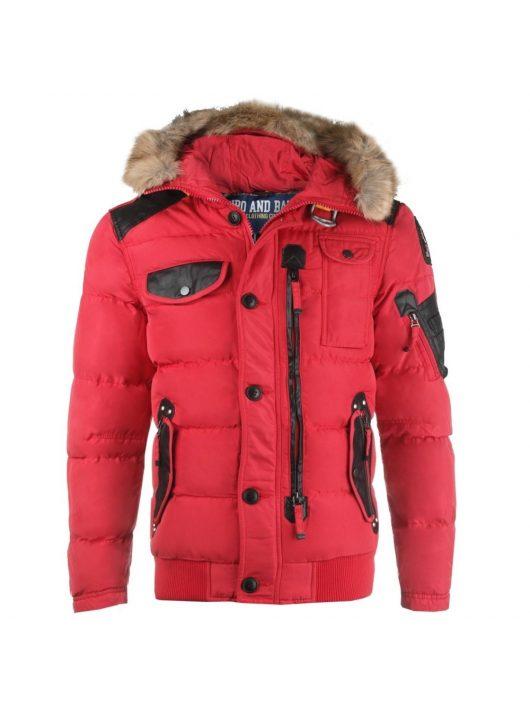 Cipo & Baxx piros télikabát CM120 RED