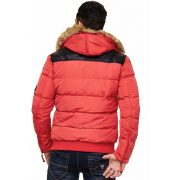 Cipo & Baxx red winter jacket CM120 RED
