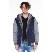 Cipo & Baxx navy blue jacket CM126 NAVY BLUE