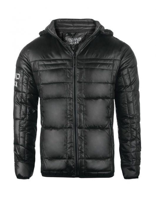 Cipo & Baxx divatos fekete kabát CM127