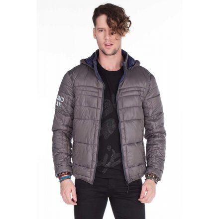 Cipo & Baxx fashionable gray jacket CM127