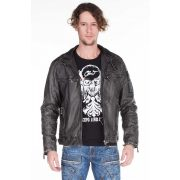 Cipo & Baxx men's faux leather jacket CM129