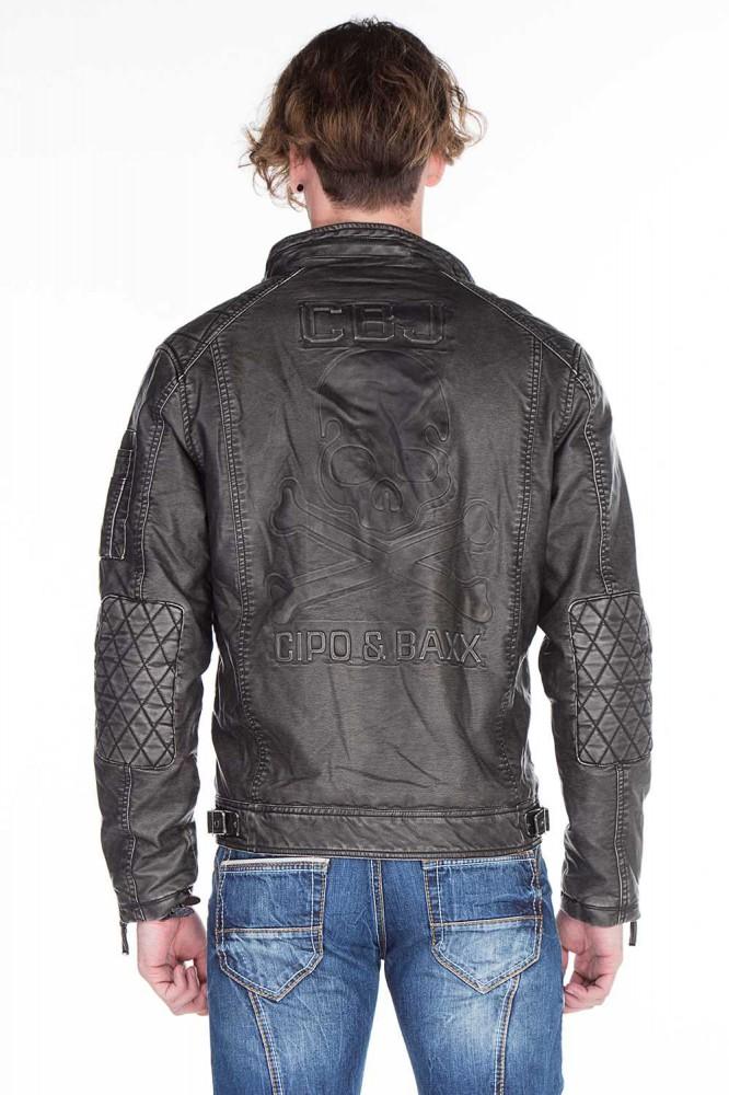 cipo baxx férfi műbőr kabát CM129 - Cipo Baxx Denim Brand - Kabátok ... dd41b7f20c