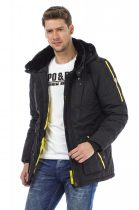 Téli kabát - Kabátok - FÉRFI - Cipo Baxx Denim Brand - Kabátok ... df5d4de51f