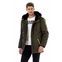 cipo&baxx vastag kabát