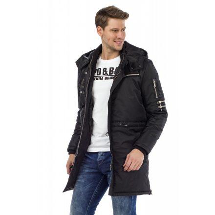 Cipo & Baxx black winter jacket