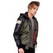 Cipo & Baxx waterproof jacket CM134khaki