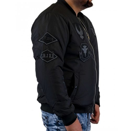 Cipo&Baxx férfi kabát CM135BLACK