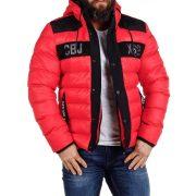 Cipo & Baxx vastag, vízálló kabát CM143RED