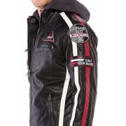 Cipo & Baxx divatos férfi kabát CM163BLACK