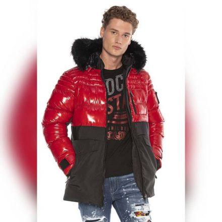 Cipo&Baxx divatos télikabát CM166RED