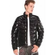 Cipo & Baxx divatos férfi kabát CM171BLACK
