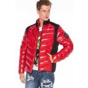 Cipo & Baxx divatos férfi kabát CM171RED