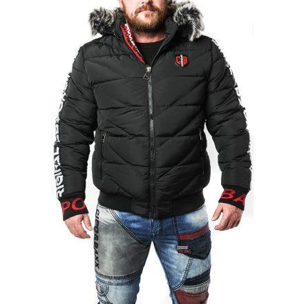 CIPO&BAXX férfi télikabát CM188 Black