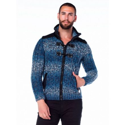 Cipo & Baxx fashionable men's knitted pullover CP124BLUE