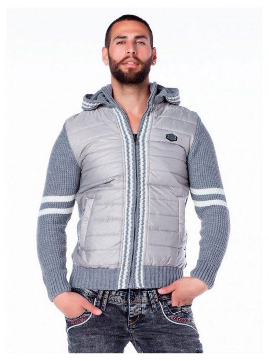 Cipo & Baxx kapucnis férfi pulóver