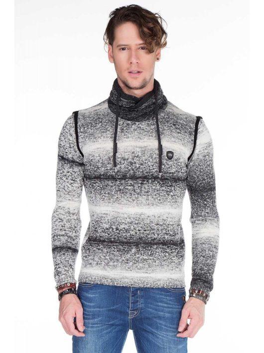 Cipo & Baxx limitált kötött pulóver