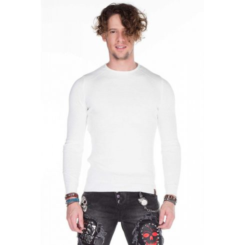 Cipo & Baxx divatos férfi pulóver