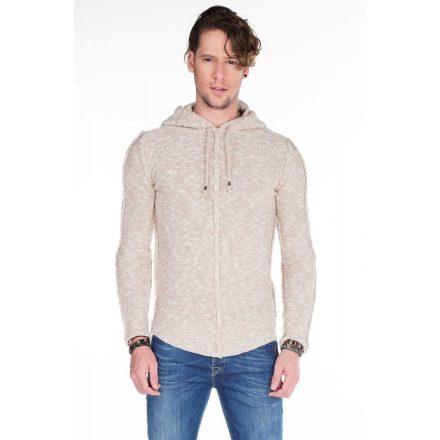 Cipo & Baxx stone gray men's pullover