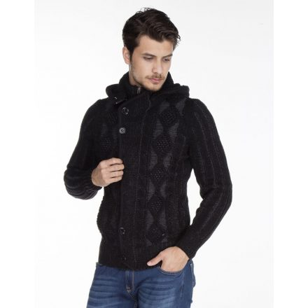 Cipo & Baxx fashionable men's knitted pullover CP161BLACK
